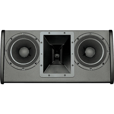 "Electro Voice FRI2082BLK Dual 8"", 2-Way, Low Profile, Passive, 100° X 100° Full Range Loudspeaker"