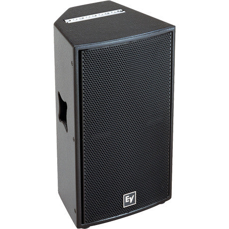 "Electro Voice QRX11275BLK 12"" Two-Way, 75?ø X 50?ø Asymmetrical Hf with Dh7, 300 Watts, Passive/Bia"