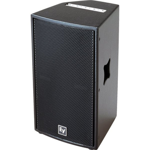 "Electro Voice QRX11575BLK 15"" Two-Way, 75?ø X 50?ø Asymmetrical Hf with Dh7, 400 Watts, Passive/Bia"
