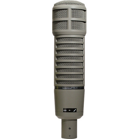 "Electro Voice RE20 ""Classic"" Variable-D dynamic cardioid studio microphone"