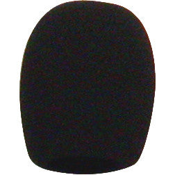 Electro Voice WSPL4 WSPL-4, Foam windscreen (black) for PL37 overhead condenser microphone (also fi