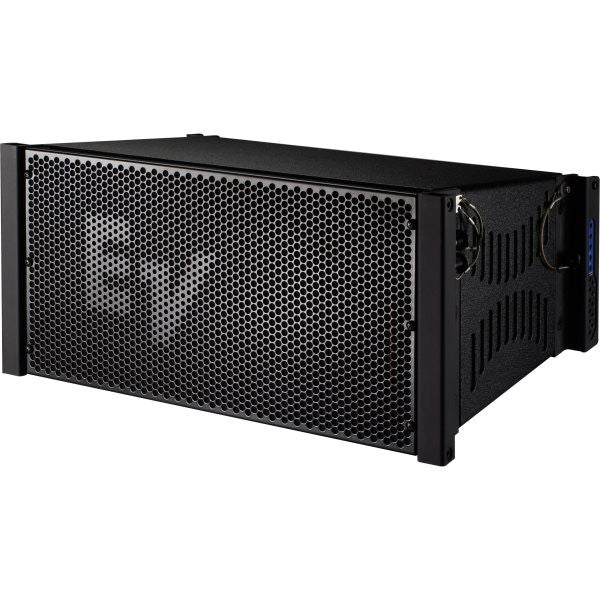 "Electro Voice XLE191BLACK Very Compact line-array cabinet, 1 X 8"" DVN2080, 2 X ND2, 90° x 10°, bl"