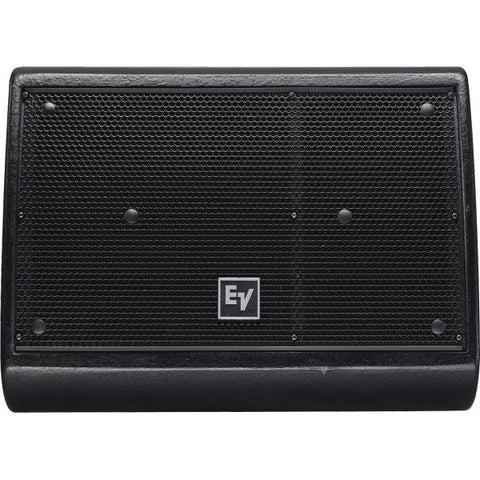 "Electro Voice XW12A 2-Way, 12"" Floor Wedge, 55° X 80° Horn, Nd6-16 Hf Driver, Biamp Only, Black"