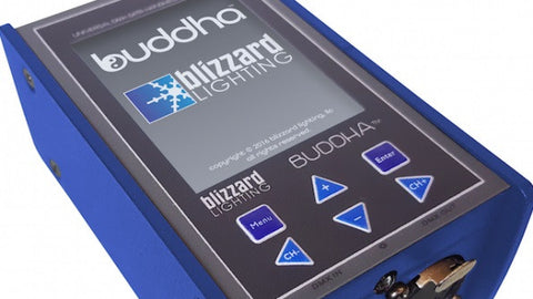 Blizzard Lighting BUDDHA DMX measurement & cable testing tool with  6-buttonplus full-color TFT t