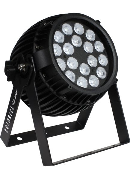 Blizzard Lighting CLRSEINFINIWHB Indoor rated fixture with 18* 5W AWC 3-in-1 LEDs, AnyFi (Skywire+ WD