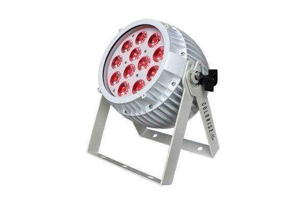 Blizzard Lighting COLORISEEXAW Indoor rated fixture with 12* 15W RGBAW+UV LEDs, AnyFiSkywire + WDMX 2