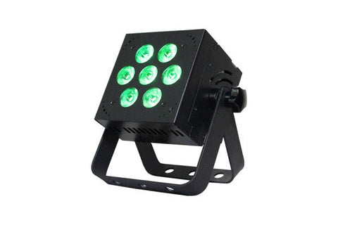Blizzard Lighting HOTBOX5RGBAWWH 7x 15-watt(5x3W)RGBAW 5-in-1 LEDs, 32-bit dimming,built-inprograms,