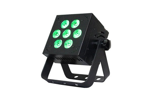 Blizzard Lighting HOTBOX5RGBAW 7x 15-watt (5 x 3W) RGBAW 5-in-1 LEDs, 32-bit dimming, built-inprogram
