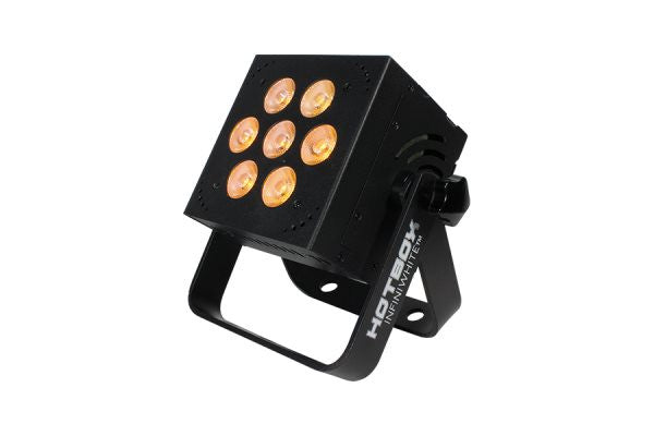 Blizzard Lighting HOTBOXINFINIWH 7x 5-watt AWC 3-in-1 LEDs with 5 user selectable 32-bit dimmingcurve