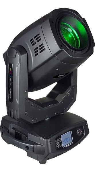 Blizzard Lighting KRYOMIXCMY Moving head fixture with 350W discharge lamp that provides 3-in-1Beam/Sp