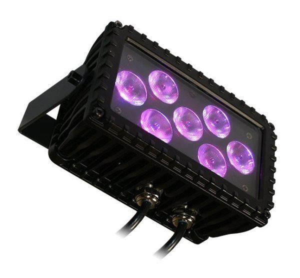 Blizzard Lighting MOTIFSKETCHB 7x 3-watt TRI-color RGB LED wash fixture fully controllable via IRremo