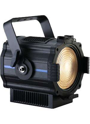 Blizzard Lighting OBERONFRESNELW 100W tungsten COB LED95 CRI, 45 degree beam angle, 3/5-pinDMX In/Out