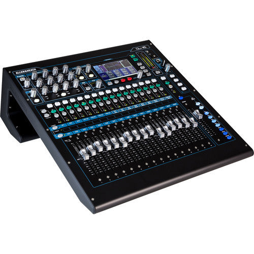 Allen & Heath QU16C 16 mic/Line + 3 stereo 12 mix outputs,digital mixer,4 efx engines,onboard r