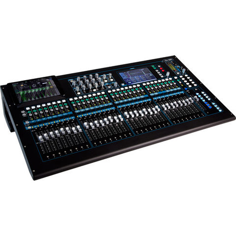 Allen & Heath QU32C 32 mic/line + 3 stereo,24 mix outputs,digital mixer,4 efx engines,onboard r
