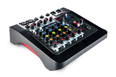 Allen & Heath ZED6FX 6 Channel Mixer 2 Mic/Line + 2 stereo input, 60 mm main fader with effects