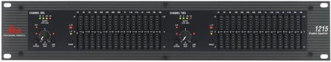 Dbx DBX1215V 12 Series - Dual 15 Band Graphic Equalizer