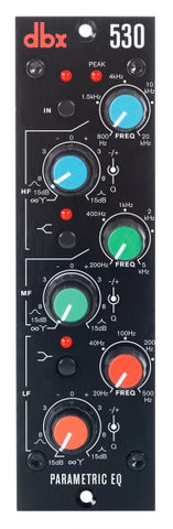 Dbx DBX530 3-Band Parametric EQ