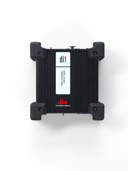 Dbx DBXDI1 Active direct box ensures audio signals go in a balanced format and free from unwanted n