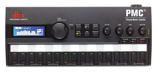 Dbx DBXPMC04 16-Channel Personal Monitor Controller