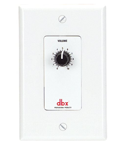 Dbx DBXZC1V ZC 1 Wall Mounted, Programmable Zone Controller