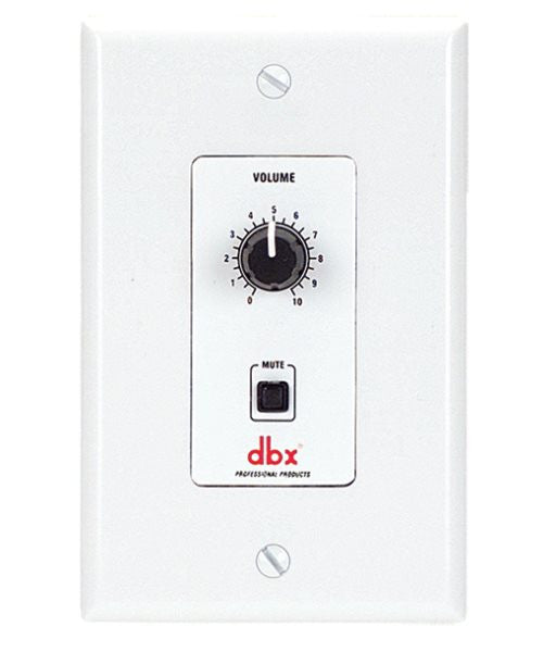 Dbx DBXZC2V ZC 2 Wall Mounted, Programmable Zone Controller
