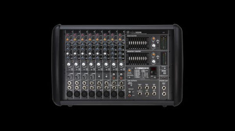 Mackie PPM1008 8-channel Powered Mixer w/ Effects (1600W)
