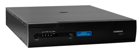 Furman F1500UPS 1500VA 2RU Rack Mount UPS, AVR, RS-232 & USB Interface, BlueBOLT Compatible