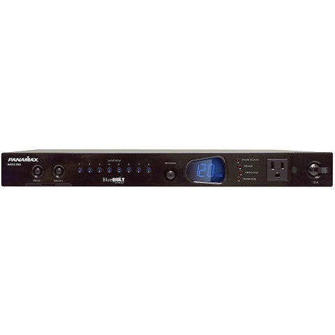 Furman M4315PRO 15A BlueBOLT Power Conditioner, 8 Individually Controlled Outlets, 8 Ft Cord