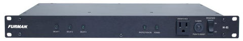 Furman M8S 15A Standard Power Conditioner W/Power Sequencing, 9 Outlets, 1RU, 10Ft Cord