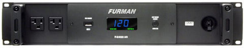 Furman P2400AR 20A Advanced AC Line Voltage Regulator W/SMP, 2RU, 10Ft Cord