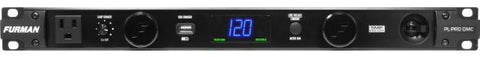 Furman PLPRODMC 20A Advanced Power Cond/Lights W/SMP & Digital Volt/Amp Meter, 9 Outlets, 1