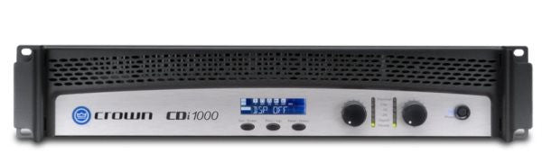 Crown CDI1000 Two-channel, 500W @ 4?, 70V/100V/140V Power Amplifier