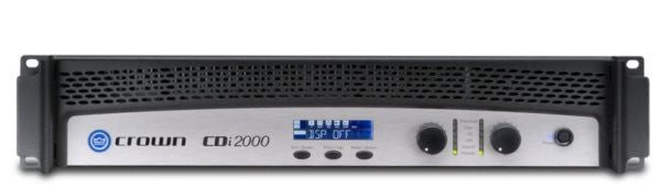 Crown CDI2000 Two-channel, 800W @ 4?, 70V/100V/140V Power Amplifier
