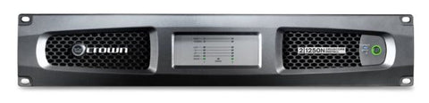 Crown DCI21250N Two-channel, 1250W @ 4? Power Amplifier with BLU link, 70V/100V