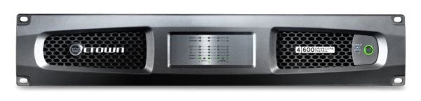Crown DCI4600 Four-channel, 600W @ 4? Analog Power Amplifier, 70V/100V
