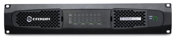 Crown DCI8300DA Dante-enabled AMP w/DSP,network control/monitoring,GPIO,2/4/8? and 70/100V operatio
