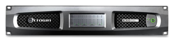 Crown DCI8300 Eight-channel, 300W @ 4? Analog Power Amplifier, 70V/100V