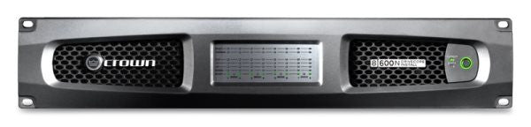 Crown DCI8600N Eight-channel, 600W @ 4? Power Amplifier with BLU link, 70V/100V