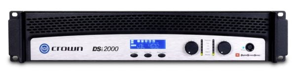 Crown DSI2000 2x800W Cinema Amplifier w/DSP