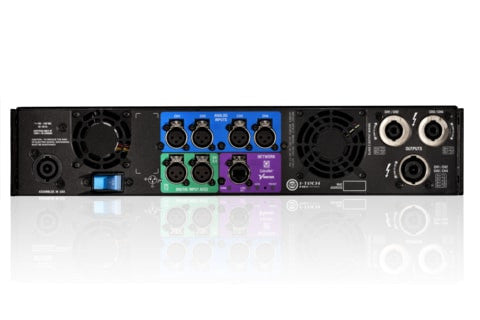 Crown IT4X3500HDS Four-channel, 4000W @ 4? Power Amplifier, SpeakOn output