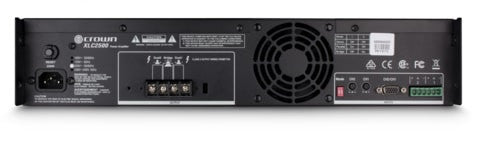 Crown XLC2500 2x500W Cinema Amplifier w/o DSP