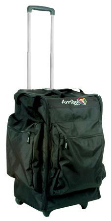 Arriba AC165 Moving Head Style Bag w/wheels & pull-up handle.