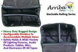 Arriba ACR16 Multi-purpose stackable rolling case Bottom rolling case with wheels