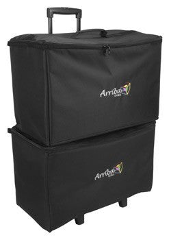 Arriba ACR22 Multi-purpose stackable rolling case Bottom rolling case with wheels