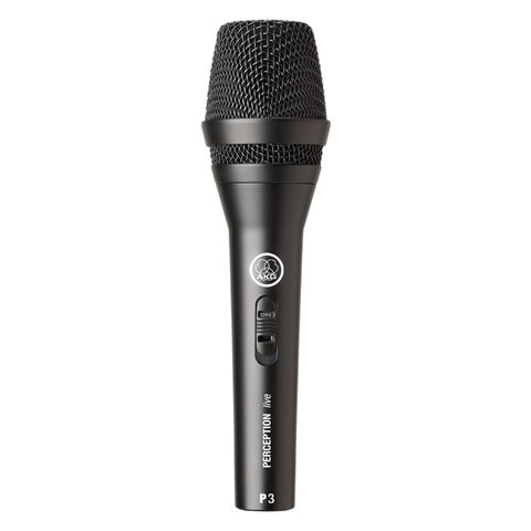 AKG P3 S High-performance dynamic microphone with on/off switch