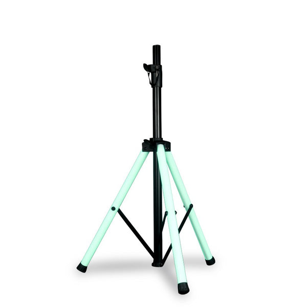 American DJ Color Stand LED, Speaker Stand with LED Lighting and IR Control - Image 1