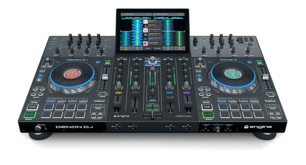 Denon Prime 4 - 4 Deck Standalone DJ System with 10-inch Touch Screen