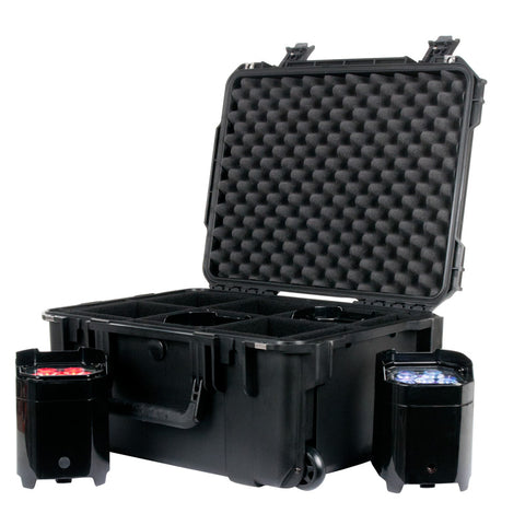 American DJ New Cases Design Which Holds Six Element PARS - Image 1