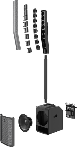Evolve 50M - Portable Column System