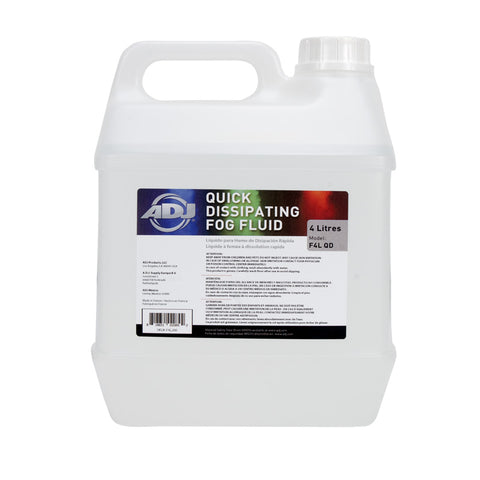 American DJ New Quick Dissipating Fog Juice In A 4 Liter Container - Image 1